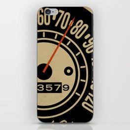 Speed-O! iPhone Skin