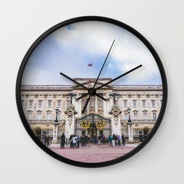 Buckingham Palace, London, England Wall Clock