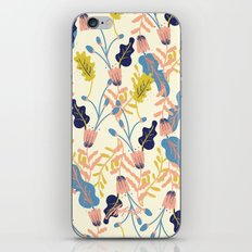 Pastel Floral Pattern iPhone & iPod Skin
