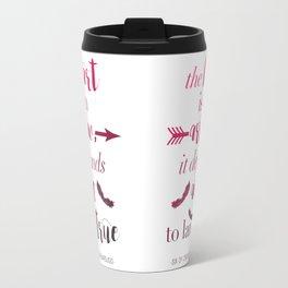 The Heart Is An Arrow - Six of Crows Leigh Bardugo (A) Travel Mug