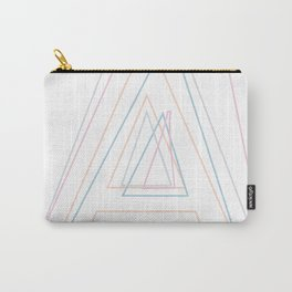 Intertwined Strength and Elegance of the Letter A Carry-All Pouch