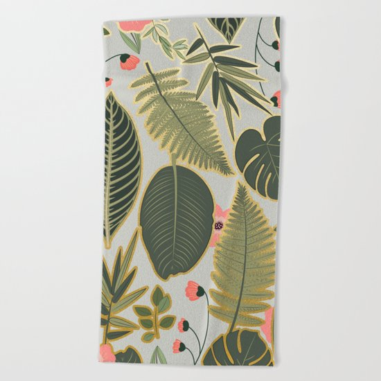 Jacqueline || #society6 #decor #buyart Beach Towel