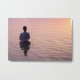 Meditation Time Metal Print