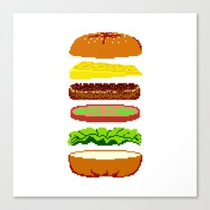Cheeseburger Canvas Print