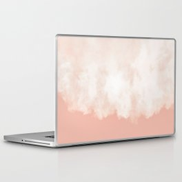 Cotton candy in beige pink Laptop & iPad Skin