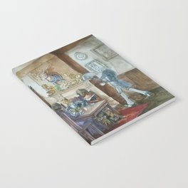 Steampunk Family Dinner Notebook