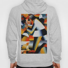 Malevich Woodcutter 1912 Artwork for Wall Art, Prints, Posters, Tshirts, Men, Women, Youth Hoody