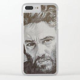 Damien Saez Clear iPhone Case