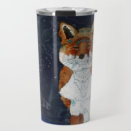 Lunar Kitsune Travel Mug