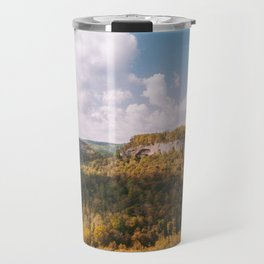 View from Chimney Top Rock - Red River Gorge, Kentucky Travel Mug