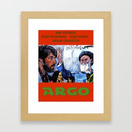 Argo Framed Art Print