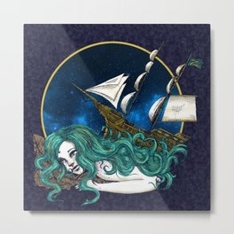 That Ship has Sailed Metal Print