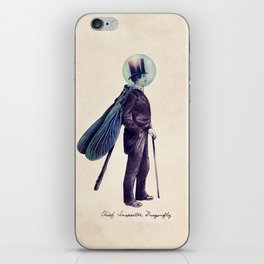 Inspector Dragonfly iPhone Skin