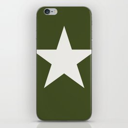Vintage U.S. Military Star iPhone Skin