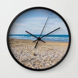 We love beach Wall Clock