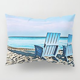 Join Me On The Beach, Won't You? Pillow Sham
