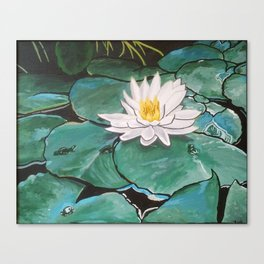 Lily of the Water Canvas Print