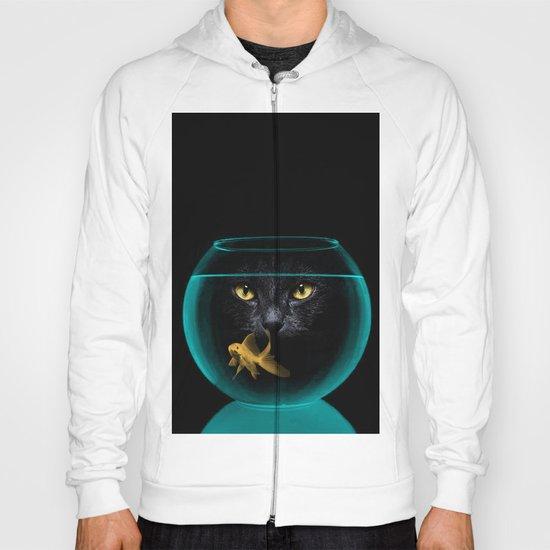 Black Cat Goldfish II Hoody