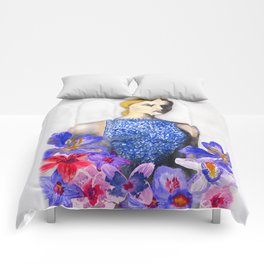 Valentino Blue Comforters