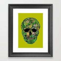 Skull Nature Framed Art Print