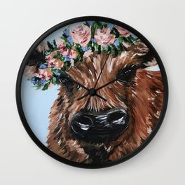 henry the highland and the best friend Wall Clock
