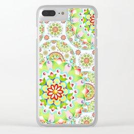 Mandala Mandala II Clear iPhone Case