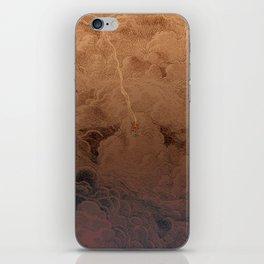 Chute dans Jupiter iPhone Skin