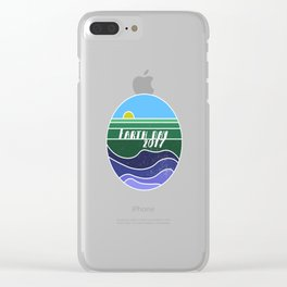 Earth Day 2017 Clear iPhone Case