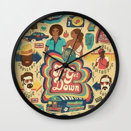 LONG LIVE THE REVOLUTION Wall Clock