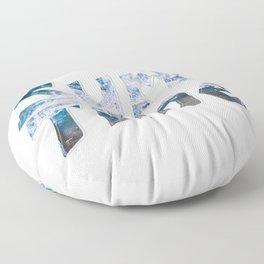 Surf Time Floor Pillow