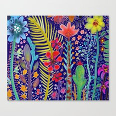 in the migthy jungle Canvas Print