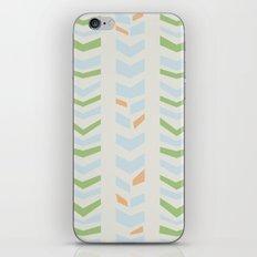 Chevron pale iPhone & iPod Skin