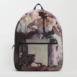 The Ballet Class- Edgar Degas Backpack