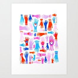 Todos Juntos Art Print
