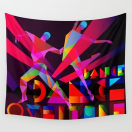 Dance Dance Overture Wall Tapestry