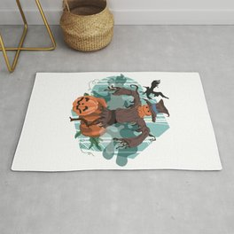 Scary Scarecrow Rug