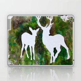 Deer silhouette Laptop & iPad Skin