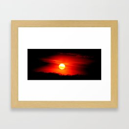 Home Star Framed Art Print