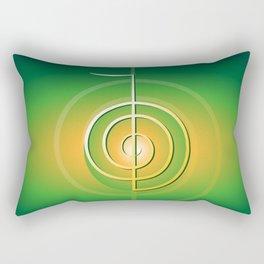 Cho-Ku-Rei - Reiki-Symbol Rectangular Pillow