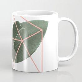 Geometric greenery Coffee Mug