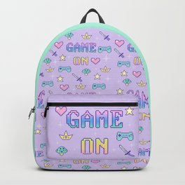 Game On (pastel) Backpack