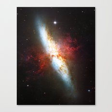 Galaxial Hydrogen Plumes Canvas Print