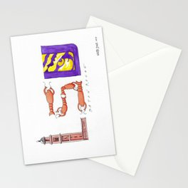 LSU - Geaux Tigers! Stationery Cards