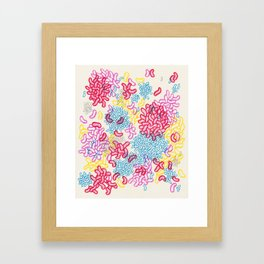 Party Painting Framed Art Print