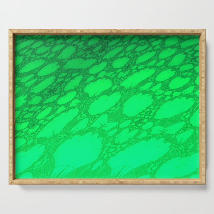 Fractal Abstract 71 Serving Tray