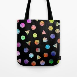 Platonic solids II Tote Bag