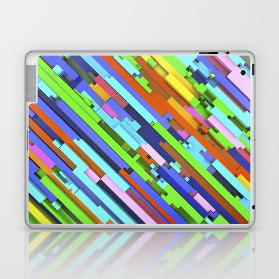 NeonGlitch 3.0 Laptop & iPad Skin
