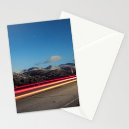 Chasing Light At 10,000 Feet Stationery Cards