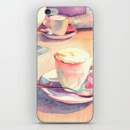 Two cups of coffee iPhone Skin