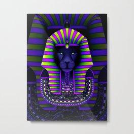 KING Vibez Metal Print